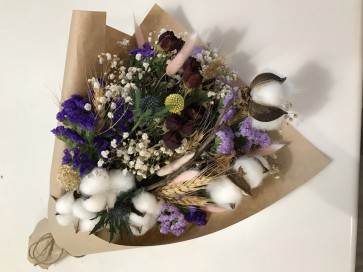Dried Floral Bouquet Workshop - 22nd Jul 18 (1pm to 3pm)