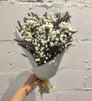 Lavender & Baby's Breath